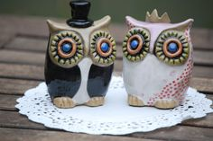 owl cake toppers.