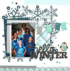Hello Winter - Scrapbook.com