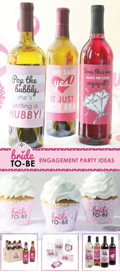 Bride-to-Be Engagement Party Decorations - Engagement Party Ideas from BigDotOfHappiness.com