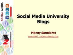social-media-marketing-blogs-010411 by Manny Sarmiento via Slideshare