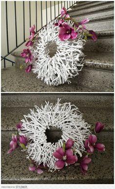 Dried Flowers, Dandelion, Kids Rugs, Wreaths, Plants, Wreath Ideas, Etsy, Home Decor, Summer