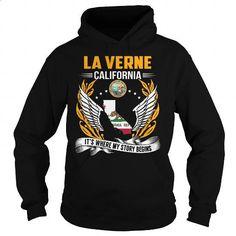 La Verne, California - Its Where My Story Begins - #gift box #love gift. BUY NOW => https://www.sunfrog.com/States/La-Verne-California--Its-Where-My-Story-Begins-103079316-Black-Hoodie.html?60505