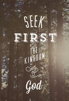 """•""""If you have not chosen the kingdom of God first, it will in the end make no difference what you have chosen instead."""" –Neal A. Maxwell •""""We must put God in the forefront of everything else. When we [do], all other things fall into their proper place or drop out of our lives. Our love of the Lord will govern the claims for our affection, the demands on our time, the interests we pursue, and the order of our priorities."""" –Ezra T. Benson"""
