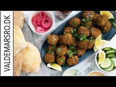 Falafler - opskrift på den lækreste hjemmelavede sprøde falafel - YouTube