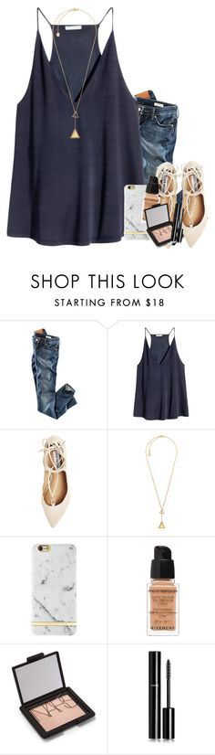 """""""get lily to 1k!"""" by mehanahan ❤ liked on Polyvore featuring H&M, Steve Madden, Michael Kors, Givenchy, NARS Cosmetics, Chanel and Lilyto1k"""