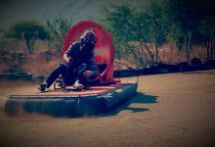 When it comes to adrenaline activities South Africa is king, and the North West province is up there with the best of them! Hover crafting is one of many of a diverse range of adventure and adrenaline leisure pursuits offered at Sun City's. North West Province, Mountain Bike Races, Adventure Center, Open Water Swimming, Sun City, Adventure Activities, Cool Bikes, South Africa, National Parks