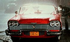 Christine. 1958 Plymouth Fury car in the film of Stephen King's Christine