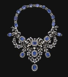 omgthatdress: Necklace late 19th century Sotheby's