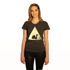Camel Tee Women's, $23, now featured on Fab.