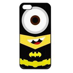 Batman Despicable Me Minion iphone 5 case cover #wanelo