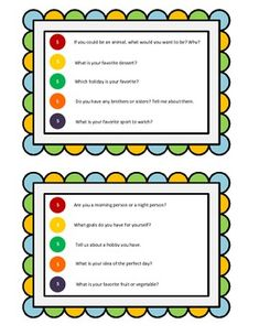 Skittles Ice Breaker: A Get-to-Know-You Activity. Perfect for the first week of school!