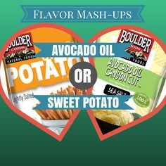 Which flavor would you choose? Sweet Potato Fries or Avocado Oil Chips? #chips #snacks
