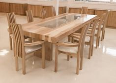 Meble Neuquén table Spice Up Your Living Space With Flowers Article Body: Do-it-yourself home improv Dining Table With Drawers, Wooden Dining Table Designs, Dinning Table Design, Chair Design Wooden, Dining Room Table Decor, Wooden Dining Tables, Dining Room Sets, Wood Table, Teak Dining Chairs