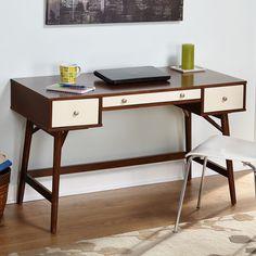 Simple Living Sutton Mid Century Desk | Overstock.com Shopping - The Best Deals on Desks