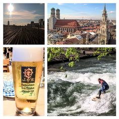 Home is where the heart is. Munich. Augustiner. 1328. Surfer. Beer.