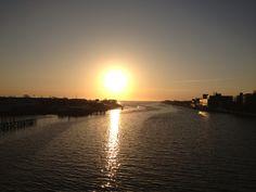 First sunrise of the new season. Beautiful.