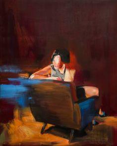 """Saatchi Art Artist Natalia Baykalova; Painting, """"""""The Wine Room"""""""" #art"""