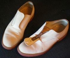 50s Shoes, Men's Shoes, Dress Shoes, Rockabilly Fashion, 80s Fashion, Mens Shoes Boots, Shoe Boots, Vintage Accessories, Vintage Men