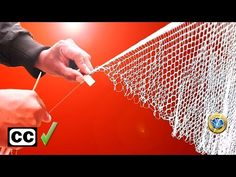 How to Weave Fishing Net Needle Lace, Bobbin Lace, Bordado Popular, Net Making, Cast Nets, Net Bag, Row By Row, Filets, Macrame Knots