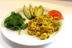 Curried Tofu Scramble | One Green Planet