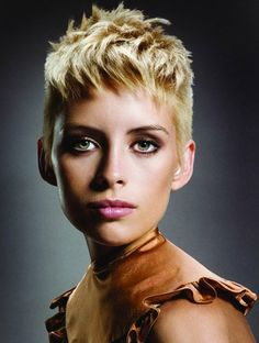 Womens Hairstyles Shaved Short Hairstyle Shaved Sides