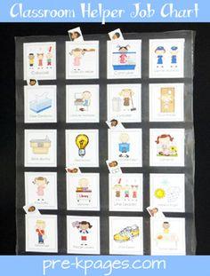 How to Make Library Pockets with envelopes (Classroom Helper Job Chart) Classroom Jobs Free, Head Start Classroom, Classroom Job Chart, Classroom Helpers, Classroom Organization, Classroom Management, Classroom Ideas, Preschool Job Chart, Preschool Jobs
