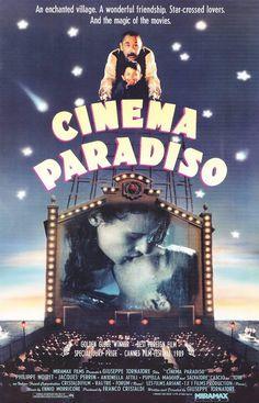 Cinema Paradiso (1988) Italia. Dir: Giuseppe Tornatore. Drama. Romance. Cine dentro do cine - DVD CINE 118