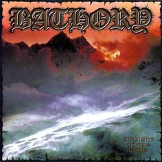 """Bathory, Twilight of the Gods*: So far, I haven't been all that impressed with Bathory. That being said, I haven't listened to too much before """"Hammerheart"""" from 1990. Truth be told, I haven't listened to much other than """"Requiem"""" from 1994, but that's three albums, and none of them have tripped my trigger. Still, I will look back on their more black metal beginnings one day. Perhaps that is where they truly excelled, but right now I just don't see it. 2/3/15"""