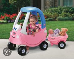 little tikes princess cozy coupe | bol.com | Little Tikes Princess Cozy Coupe Trailer, Little Tikes ...
