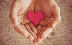 Baixar coração mãos de humor menina amor-de-rosa Papel de parede de alta qualidade