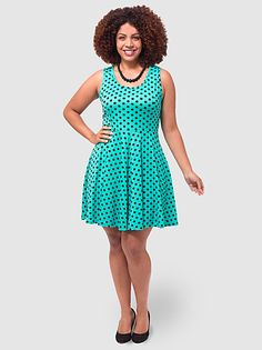 Glynis Dress In Mint