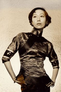 Eileen Chang and her cheongsam poem