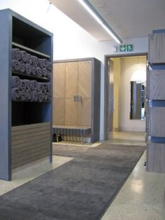 K/M2K Architecture and Interior Design, Copperleaf Golf Club, Centurion, South Africa. Gents Changeroom Interior