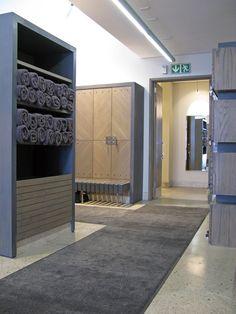 K/M2K Architecture and Interior Design, Copperleaf Golf Club, Centurion, South Africa. Gents Changeroom Interior