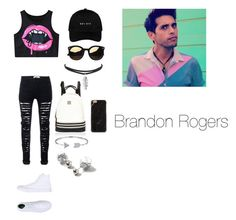 """""""Brandon Rogers inspired outfit"""" by mollie-fagan on Polyvore featuring Converse, River Island, Dorothy Perkins and Bling Jewelry"""