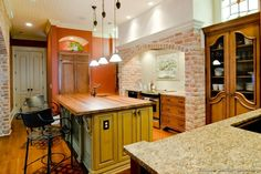 #Kitchen Idea of the Day: Tuscan Kitchens.