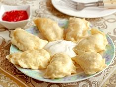 Вареники на кефире на пару — рецепт с фото пошагово