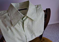 Vintage john varvato's Green Shirt/Men's Maple Leaf by Inhabituel, $30.00