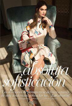 Fantasy Fashion Design: Maria Palma posa con looks sofisticados y femenin...