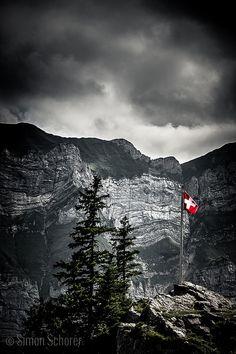 Clouds (Swiss Flag) Swiss Re, Swiss Flag, Switzerland Flag, Visit Switzerland, The Mont, Mark Rothko, I Want To Travel, Central Europe, Wishful Thinking