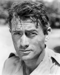 Gregory Peck as Canadian pilot Bill Forrester in The Purple Plain (1954).  Fuuuuuuuuuuck