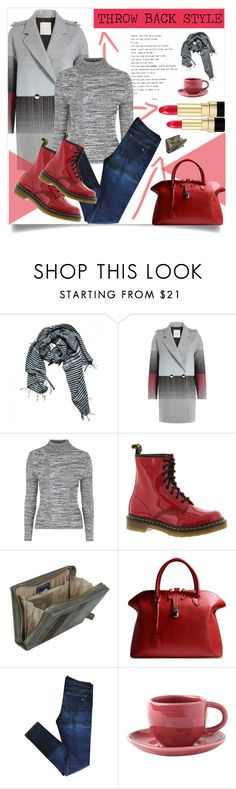 """Throw Back Style:Doc Martens"" by rosalie45 ❤ liked on Polyvore featuring Zara, Marco de Vincenzo, Topshop, Dr. Martens, Golden Goose, rag & bone, Toast and Dolce&Gabbana"