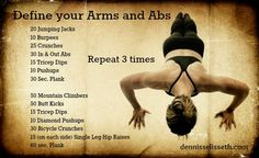Define Your Arms and Abs