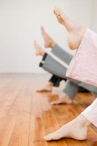 High Arches = Heel Bruises. Yoga positions to help heal.