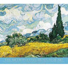 Vincent van Gogh: Wheat Field with Cypresses Poster - Posters & Prints - Wall Art - The Met Store