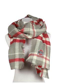 Ohio State Buckeyes Tratan Blanket Womens Scarf - 74280353