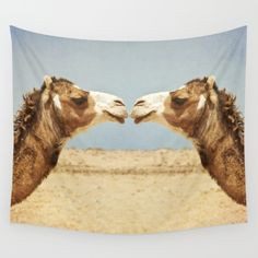 Sandy Broenimann Love And Affection Art Print - Urban Outfitters Camel Animal, Camels, Photo Quality, North Africa, Photo Art, Art Photography, Cute Animals, Wild Animals, Wall Art