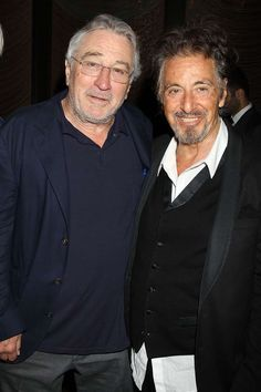 "Robert De Niro and Al Pacino attend ""The Godfather"" 45th reunion private dinner following Tribeca Fi... - Allocca/Starpix/REX/Shutterstock"