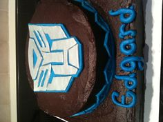 Transformer cake for Bake a Wish.