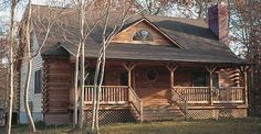 Old Fashioned Feeling Log Home (The Bent Willow) for  $43,186.